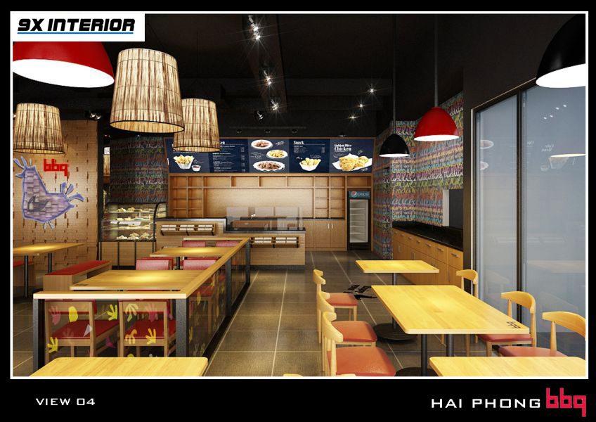 Công trình nhà hàng BBQ – Hải Phòng