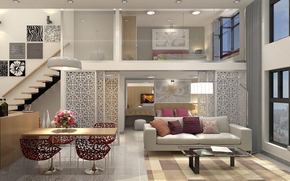 Xu hướng phòng khách thông tầng ngày càng được các hộ gia đình ưa chuộng