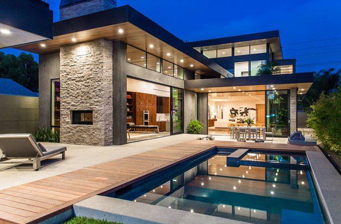 Thiết kế biệt thự chứa hồ bơi là xu hướng được các hộ gia đình yêu thích hiện nay