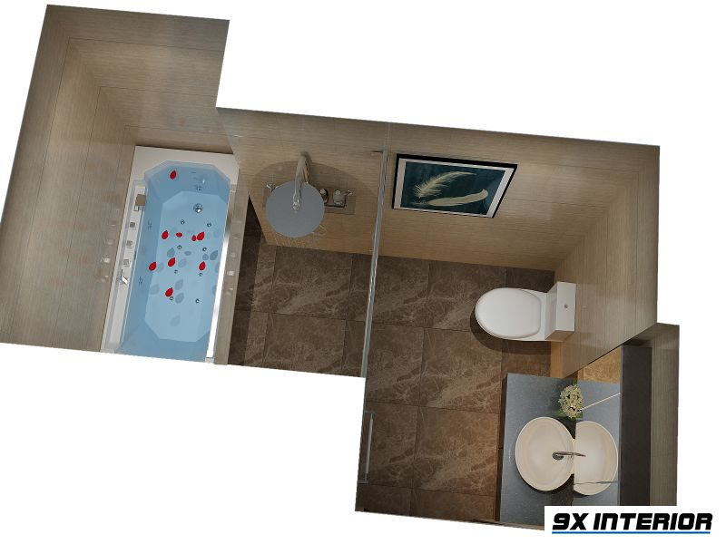Thiết kế phòng WC