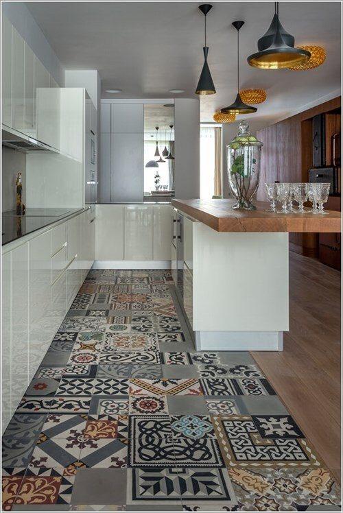 Không gian nấu nướng hiện đại với tone màu tinh tế