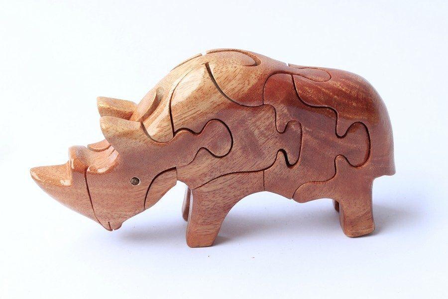 Sản phẩm mỹ nghệ tự chế làm từ gỗ ghép
