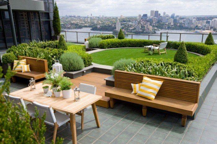 Việc lựa chọn gạch lát nền sân thượng nên dựa vào thiết kế tổng quan