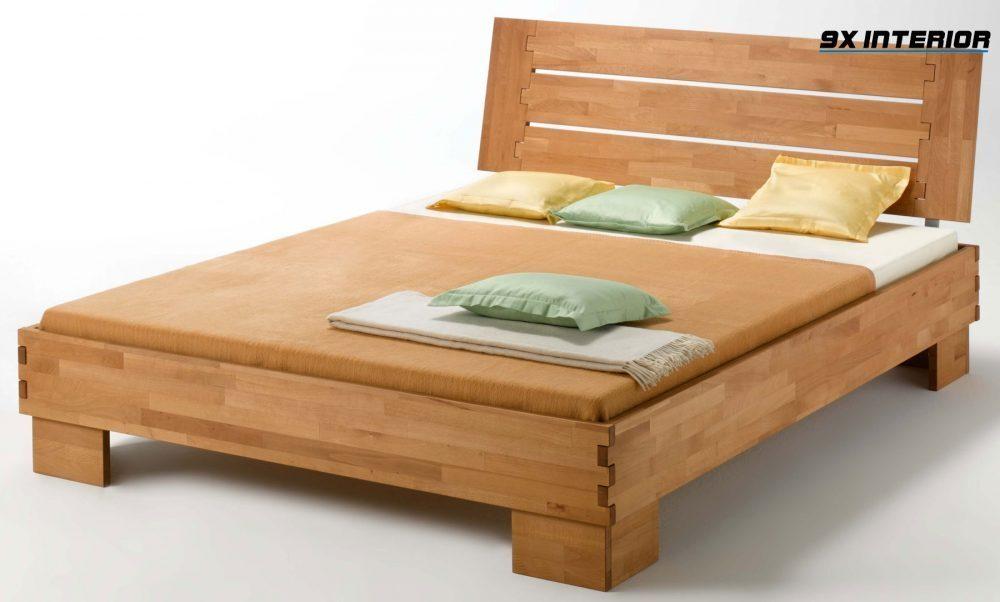 Sản xuất giường ngủ bằng gỗ ghép thanh