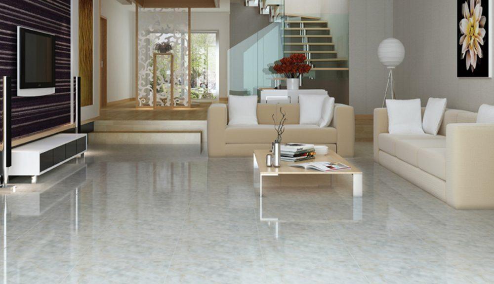 Không gian ngôi nhà sang trọng hơn khi chọn màu gạch lát nền và màu tường phù hợp