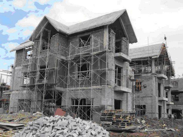 Gạch không nung được ưa chuộng xây dựng cho các công trình nhà cao tầng, chung cư
