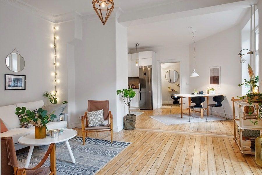 Thiết kế chung cư theo phong cách tối giản mang đến cảm giác nhẹ nhàng, rộng rãi cho không gian sinh hoạt