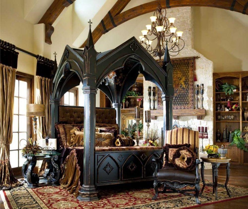 Kiến trúc Gothic rất coi trọng tỉ lệ vàng trong việc design và bố trí không gian nội thất