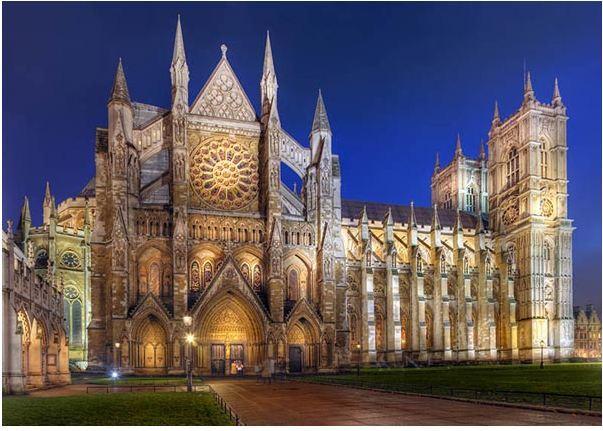 Kiến trúc Gothic thường được ứng dụng trong những công trình kiến trúc tiêu biểu là nhà thờ
