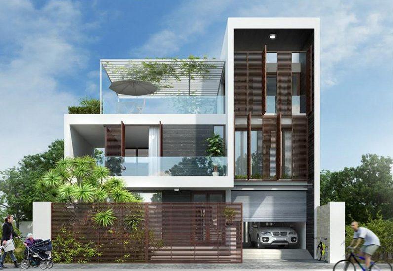 Kính không chỉ là chất liệu trang trí bề mặt mà còn là công cụ giúp căn nhà lấy được trọn vẹn ánh sáng tự nhiên, giúp không gian thêm thoáng