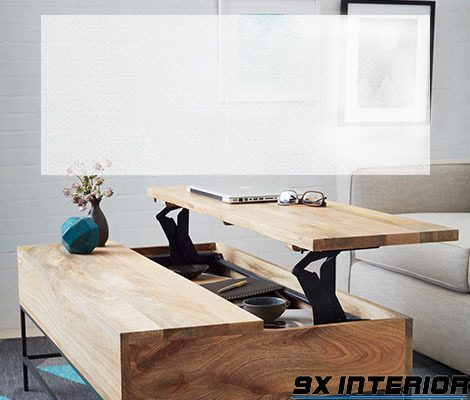 Bàn ăn thông minh kết hợp bàn làm việc
