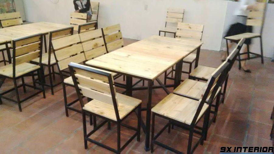Ghế gỗ pallet