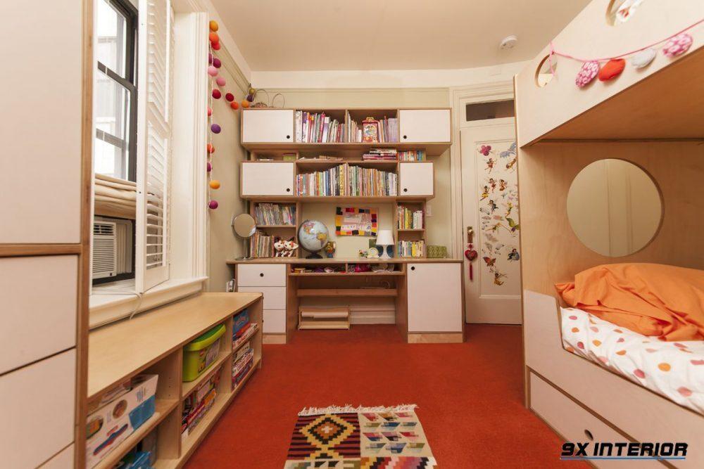 Thiết kế phòng học hiện đại cho bé là xu hướng được các hộ gia đình lựa chọn để kích thích sự sáng tạo hiệu quả