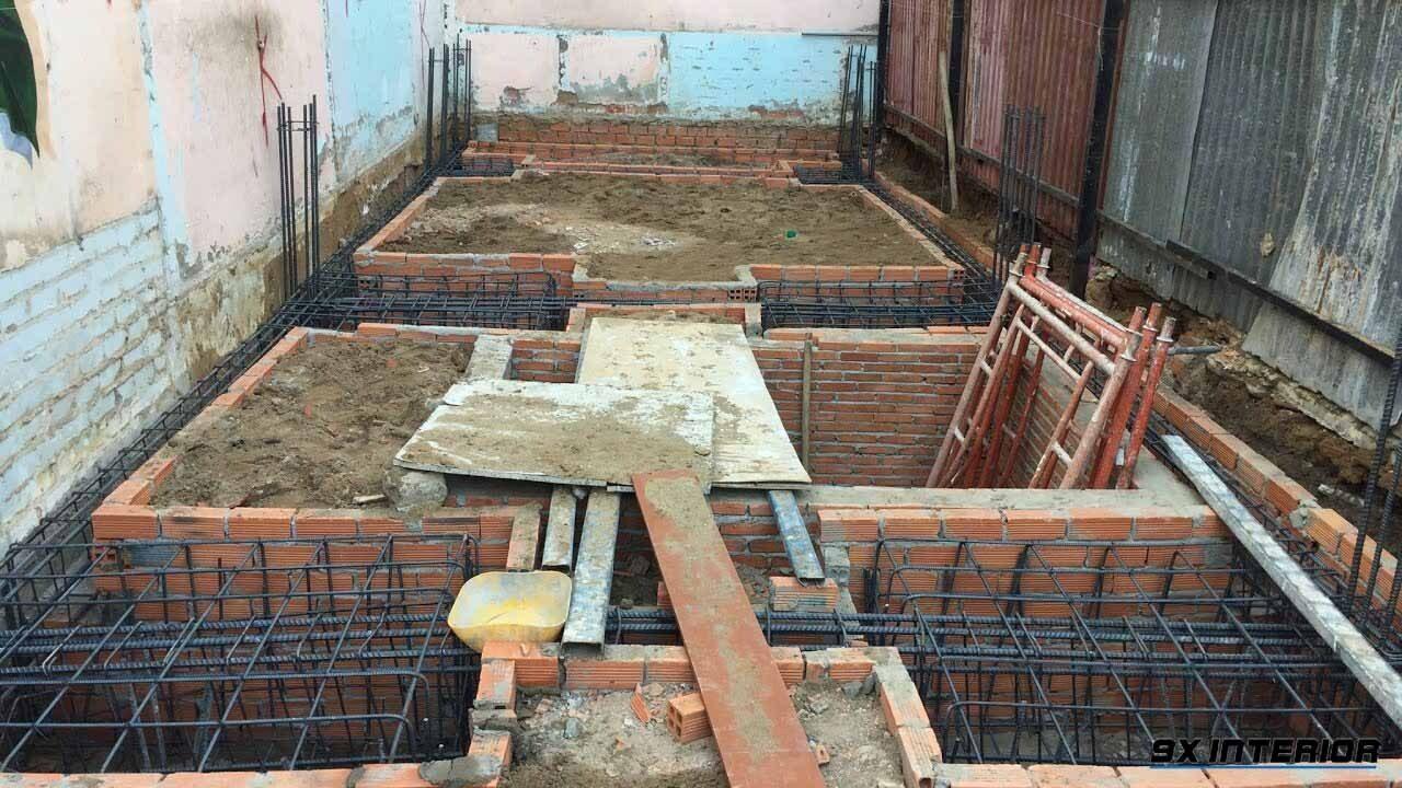 Móng nhà là bộ phận quan trọng giúp nâng đỡ và quyết định cho sự bền vững cho cả công trình