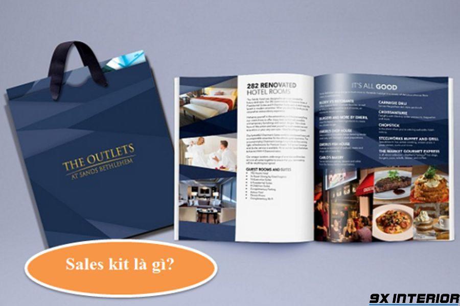 Sales Kit hay còn gọi là Bộ tài liệu bán hàng bao gồm các tài liệu, mẫu biểu, vật dụng cần thiết luôn được nhân viên kinh doanh mang theo khi tiếp xúc với khách hàng