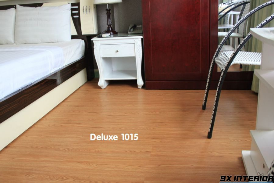 Sàn nhựa giả gỗ Deluxe tốt
