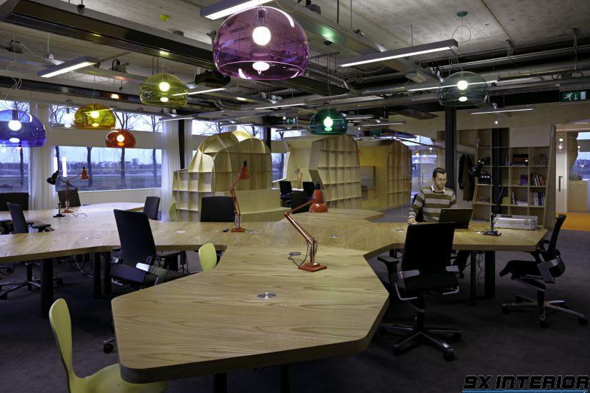 Thiết kế văn phòng đa năng