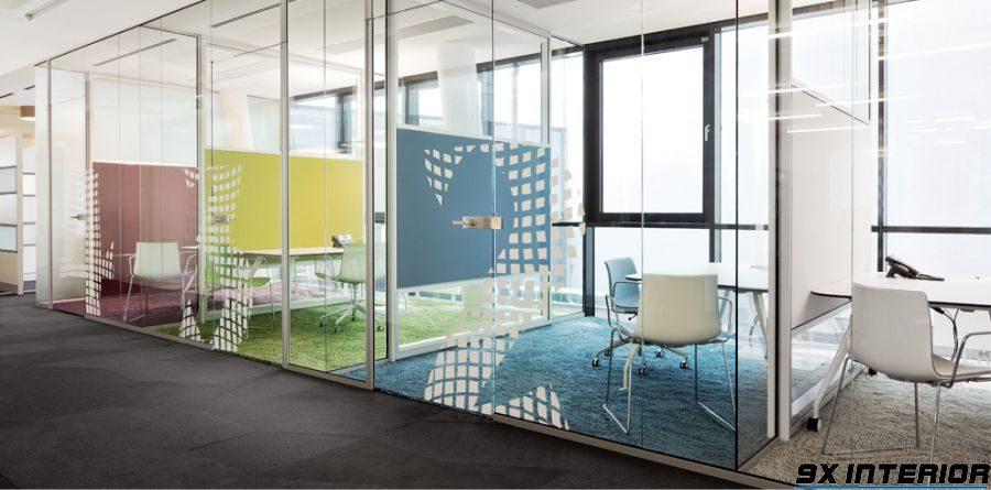 Thiết kế nội thất văn phòng cho diện tích nhỏ.