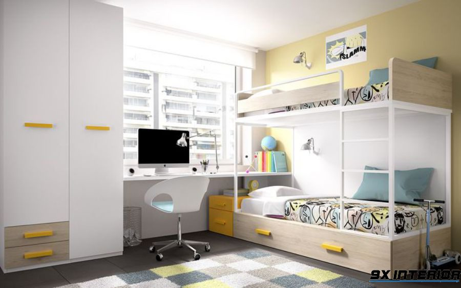 [Tư vấn] Thiết kế phòng học cho bé yêu thêm cảm hứng học tập