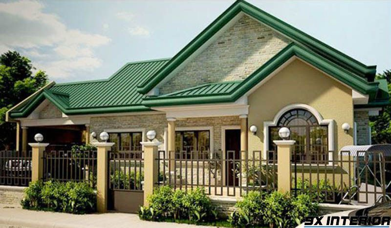 Các mẫu nhà cấp 4 mái tôn được thiết kế phục vụ dựa trên nhu cầu của chủ nhân ngôi nhà cũng như sở thích và sự tiện nghi mà nó đem lại