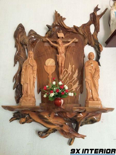 Mẫu bàn thờ Chúa đẹp nhất 05