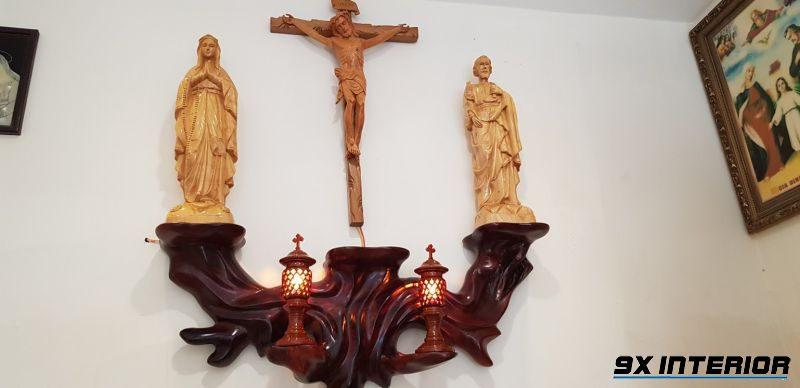 Mẫu bàn thờ Chúa đẹp nhất 02
