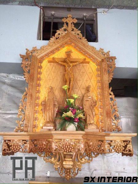 Mẫu bàn thờ Chúa đẹp nhất 06