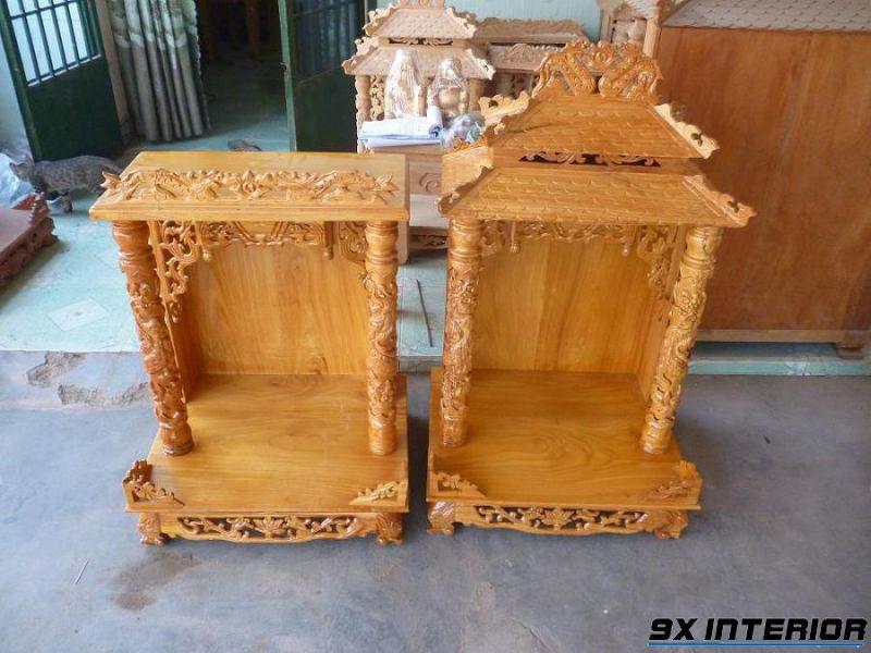 Mẫu bàn thờ thần tài 04