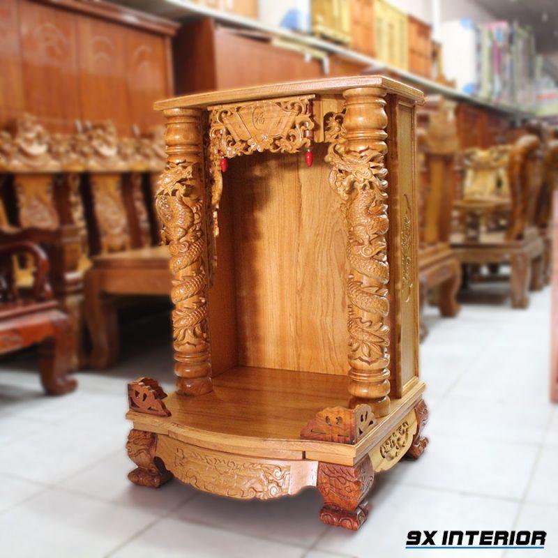 Mẫu bàn thờ thần tài 01
