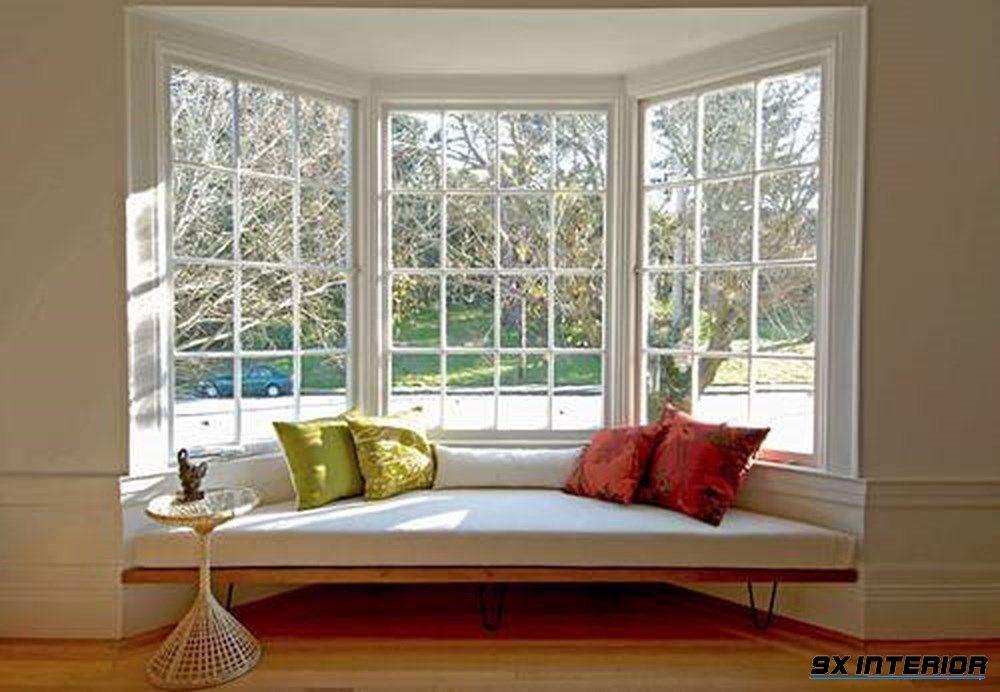 Hoặc một góc thư giãn nho nhỏ nơi bạn có thể ngắm nhìn thế giới ngoài kia qua khung cửa sổ thơ mộng này