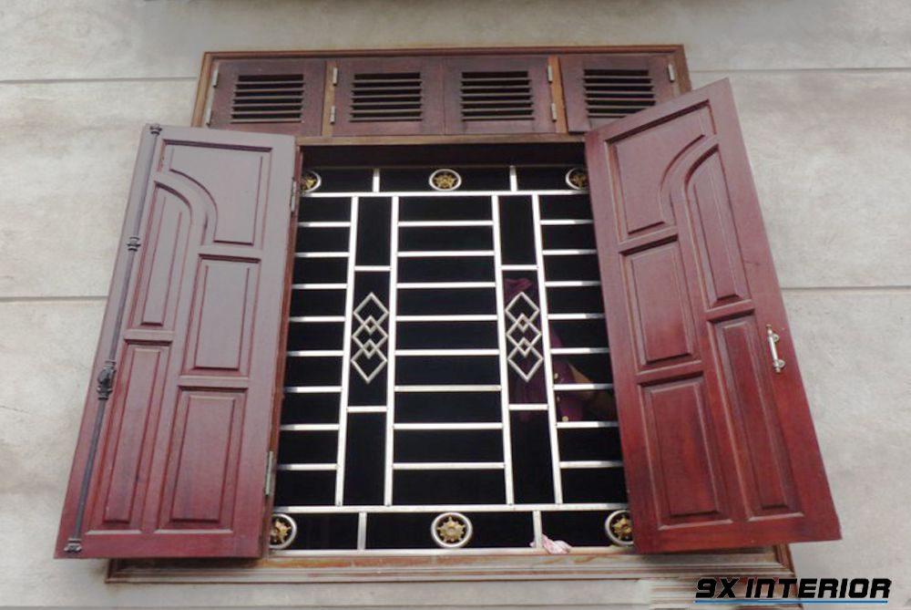 Mẫu cửa sổ cho nhà xây đơn giản (nhà cấp 4, nhà mái thái vv...)