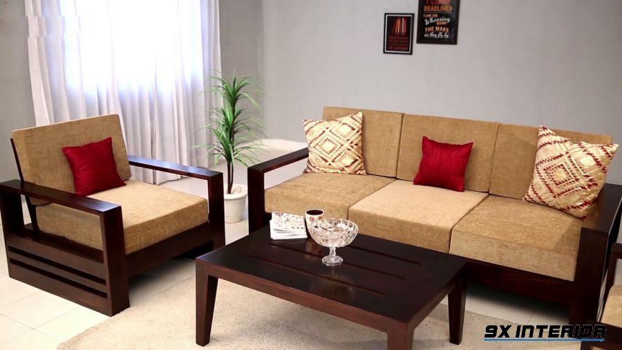 Nếu bạn là một người khá kĩ tính thì bộ sofa gỗ chữ L này nhất định sẽ là gợi ý không thể bỏ qua