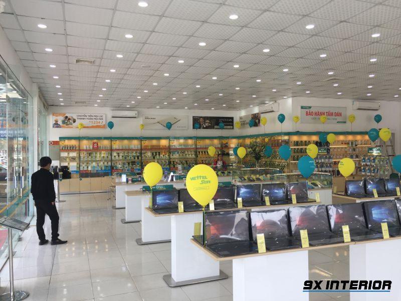 Showroom điện thoại, laptop của Viettel Store tại Hà Huy Tập - Hà Tĩnh