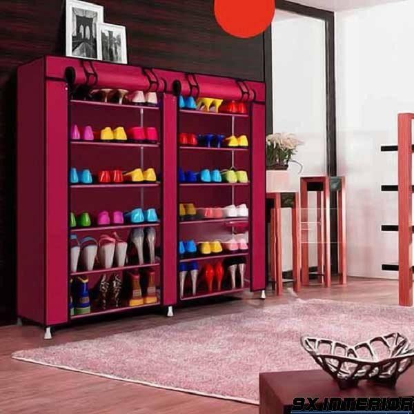 Tủ giày làm từ chất liệu vải