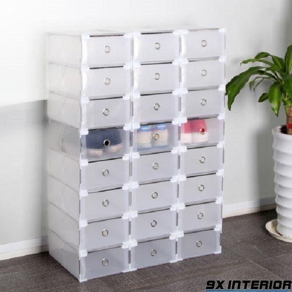 Tủ đựng giày làm từ chất liệu nhựa