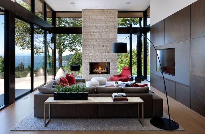 Đặc trưng nội thất mang phong cách hiện đại là những hình khối rõ ràng, đường nét giản lược, thanh thoát
