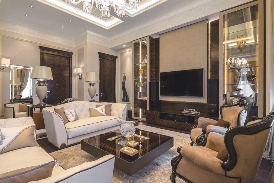thiết kế nội thất chung cư tân cổ điển 04