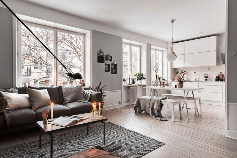 Không gian căn nhà được bố trí tự do, tạo cảm giác thoải mái, thư giãn cho gia chủ