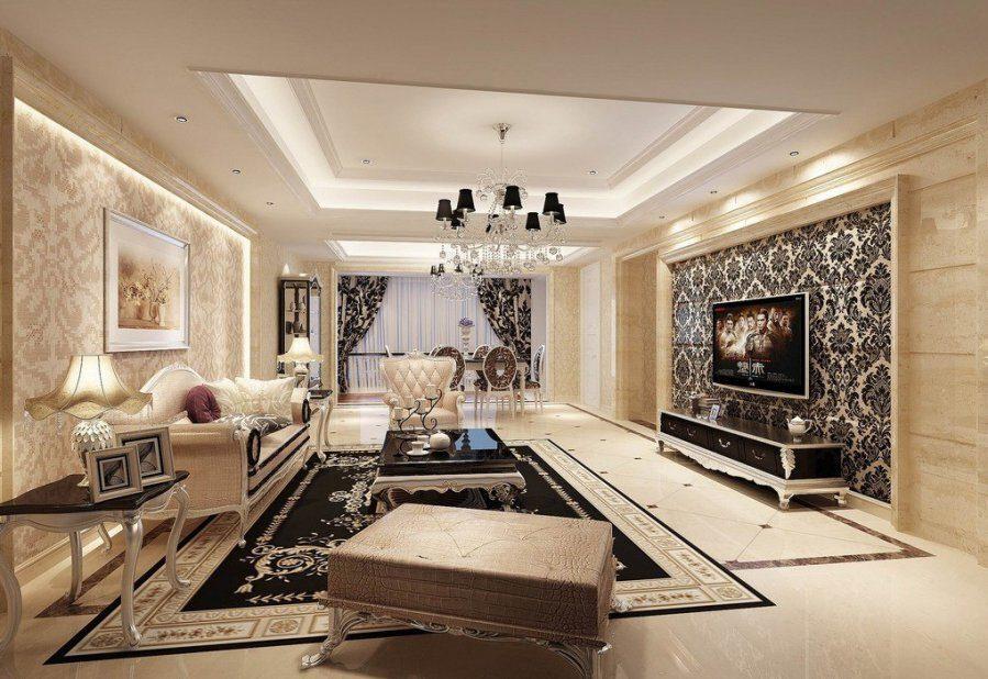 Phong cách Tân cổ điển thường xuất hiện trong những không gian nhà ở sang trọng như biệt thự, penthouses, villa vv...