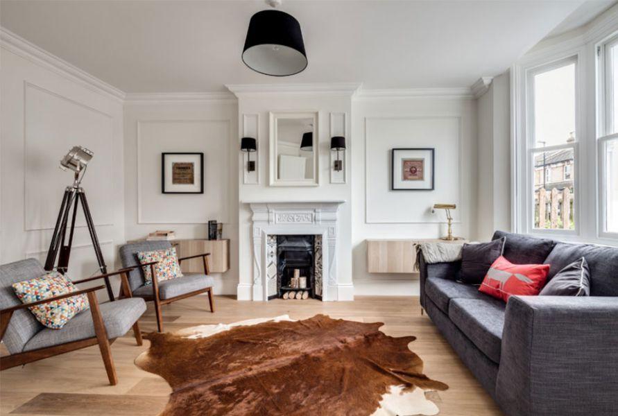 Mẫu 18: Thiết kế phòng khách mang đậm phong cách Bắc Âu