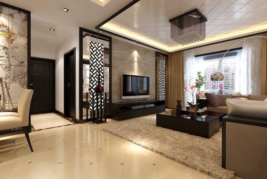 Một chút hơi thở Á Đông kết hợp Hiện Đại là lựa chọn không tồi cho phòng khách chung cư hiện nay