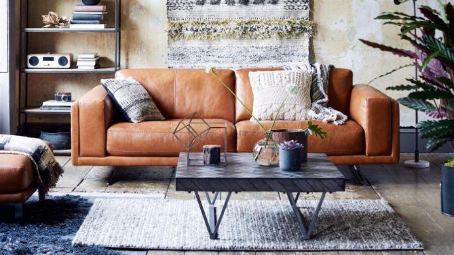 Lịch lãm ấn tượng với sofa văng bằng da tự nhiên