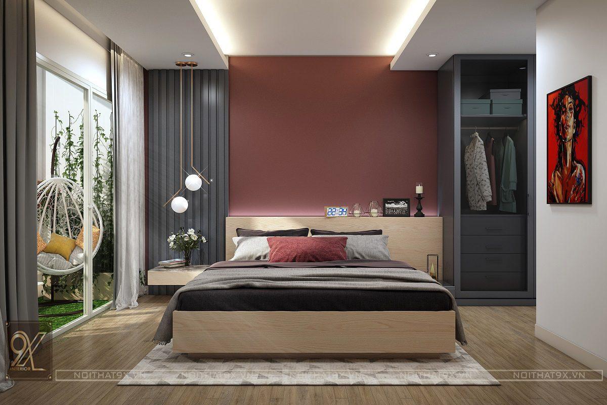 Nội thất phòng ngủ master view 5 - Chung cư An Bình City/Anh Hòa