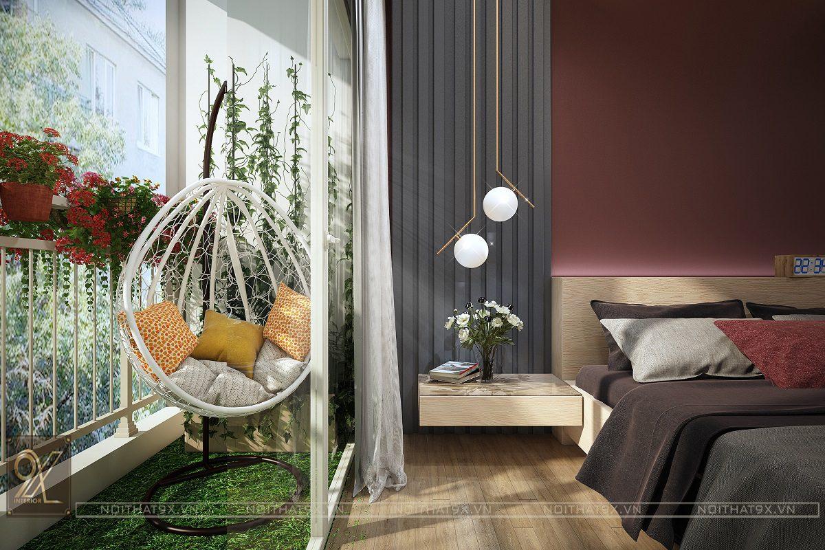 Nội thất phòng ngủ master view 3 - Chung cư An Bình City/Anh Hòa