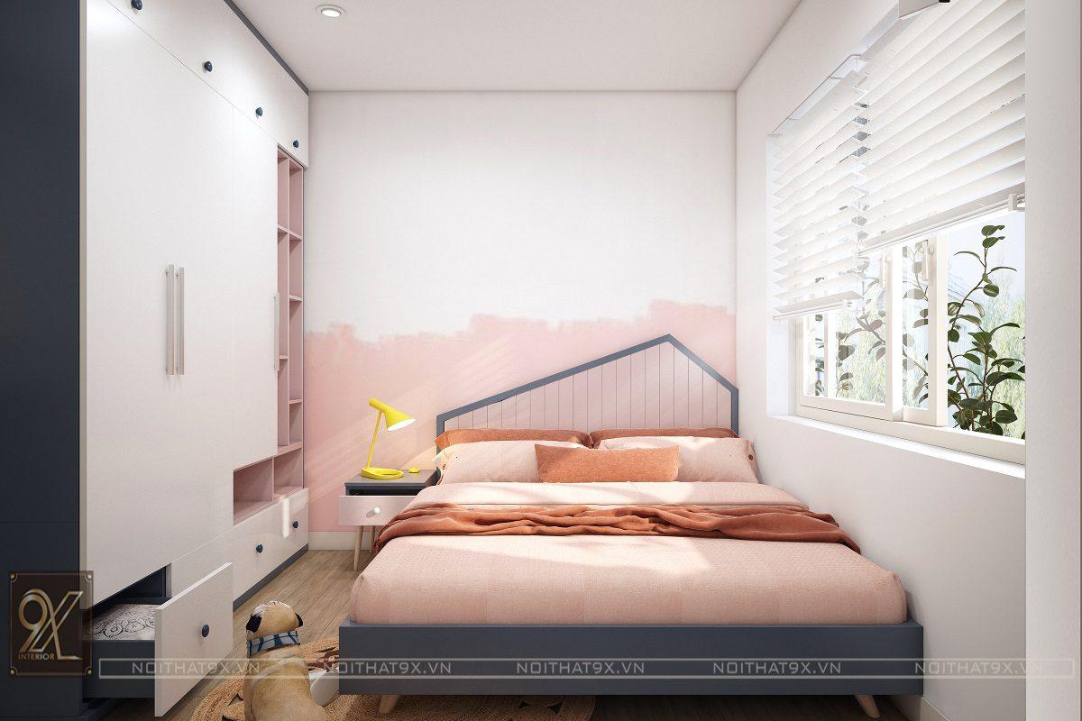 Nội thất phòng ngủ con view 2 - Chung cư An Bình City/Anh Hòa