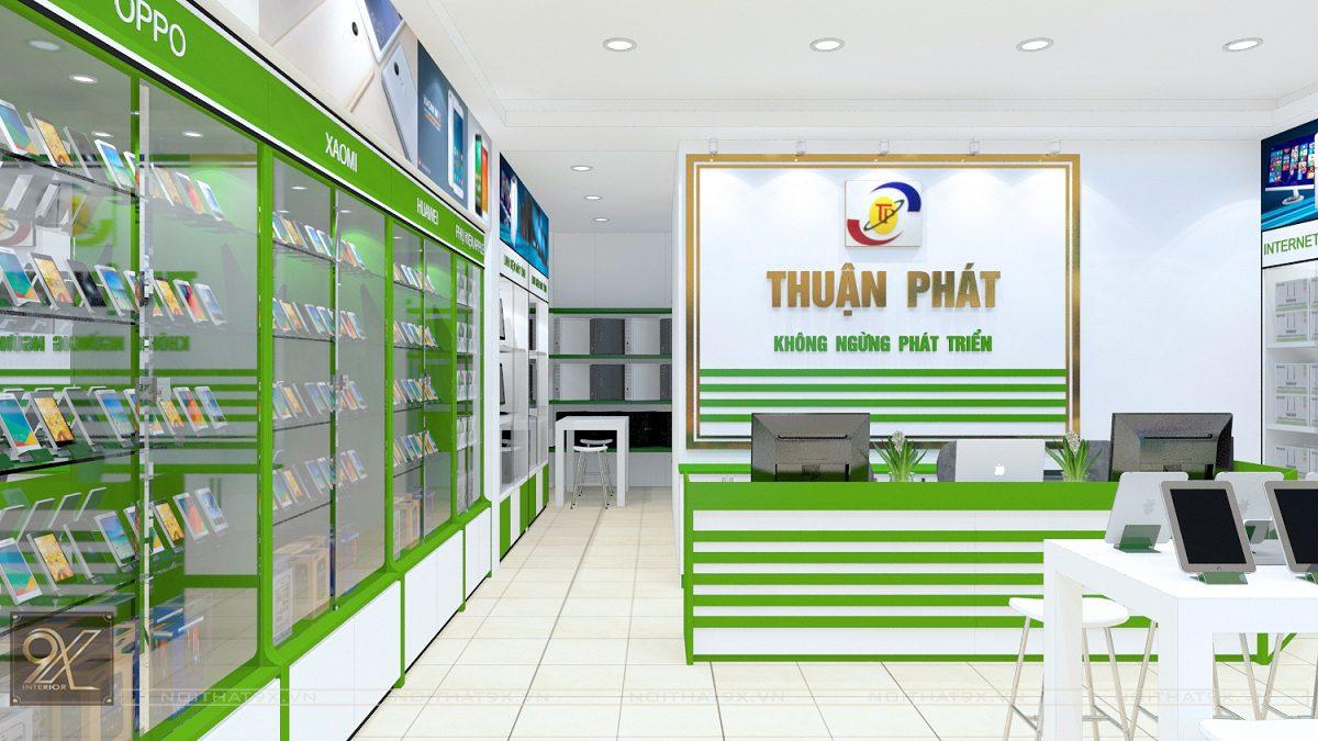 Công trình showroom Thuận Phát – Sóc Sơn, Hà Nội