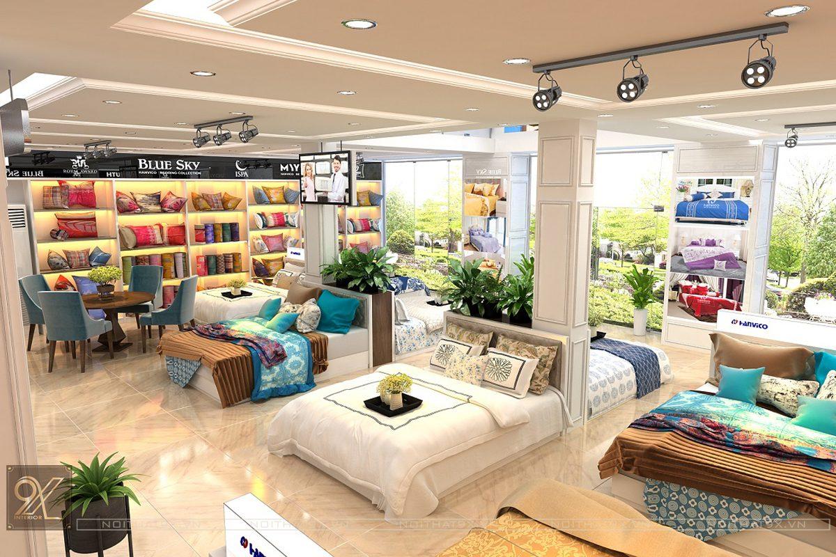 Công trình showroom Hanvico Living – Hà Đông, Hà Nội