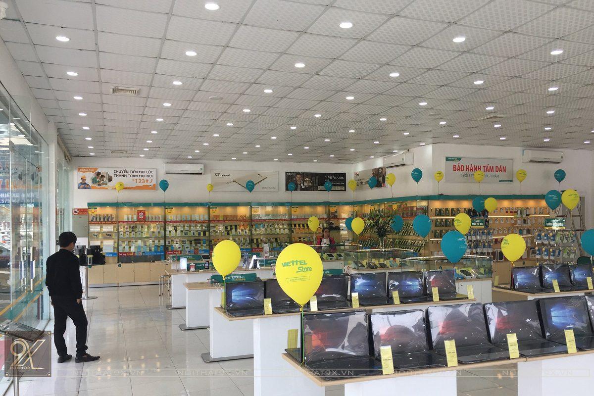 Công trình showroom Viettel Store – Hà Huy Tập, Hà Tĩnh