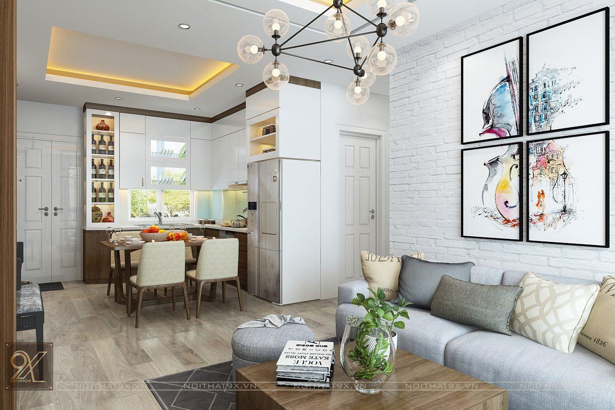 Làm phong phú thêm những mảng tường bằng tranh trang trí khổ lớn, nhiều màu sắc