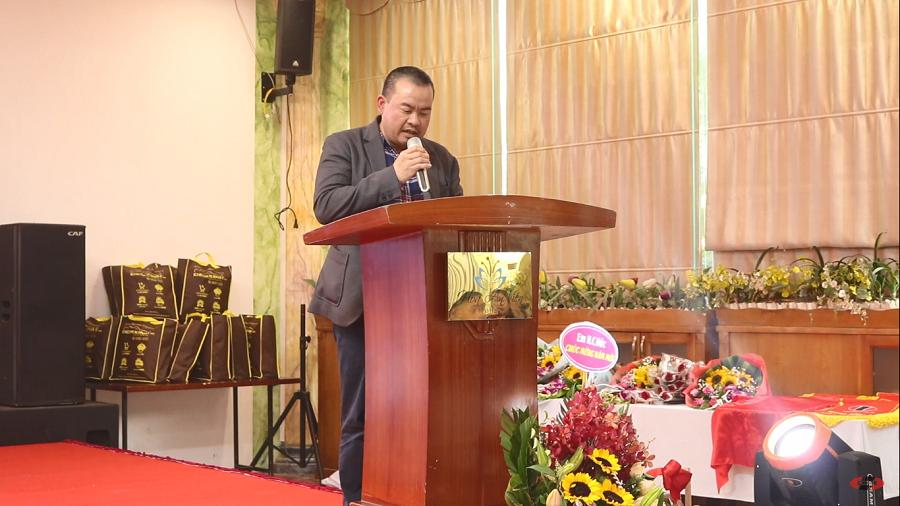 Ông Nguyễn Văn Xuân – Giám đốc công ty, phát biểu tại buổi lễ